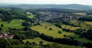 Beispiel einer geschlossene Blende anhand einer Landschaft