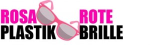 das rosarote Plastikbrille  Logo