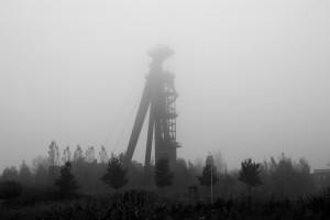 Silentium der gegenwärtigen Vergangenheit - ein Kohleförderturm aus Kamen