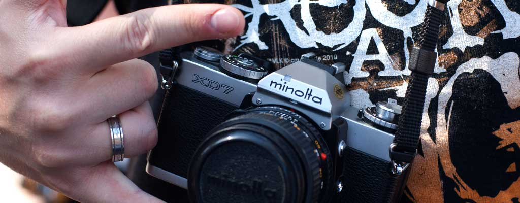 Ein Bild meiner Minolta XD7