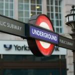 Underground Zeichen London