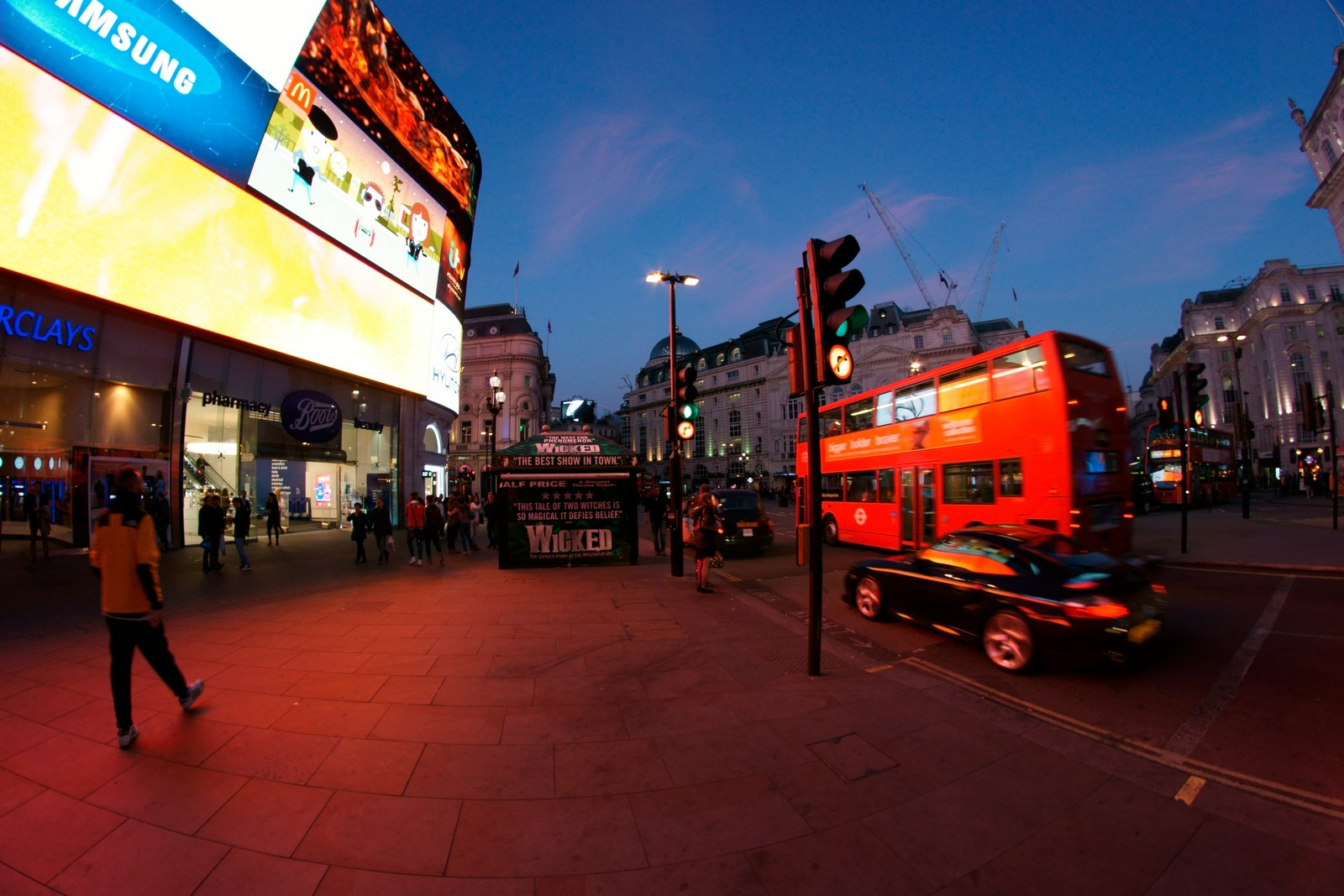 Doppeldeckerbus Piccadilly Circus
