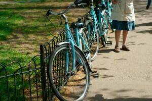 Fahrradtour durch London