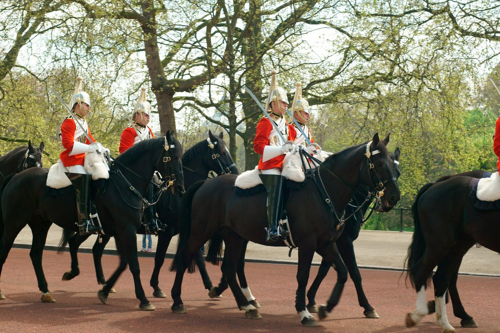 Wachblösung London Buckingham Palace