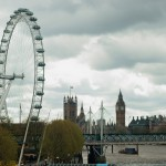 London Eye und House of Parliament