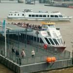 Fähre auf der Themse