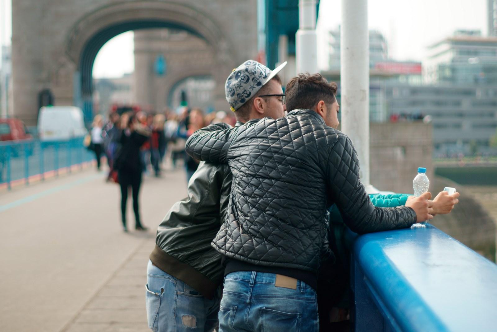 Selfie an der Tower Bridge