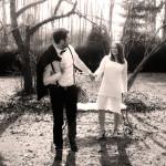 Save the Date Hochzeitseinladung - er entführt seine Braut zu ihrer Hochzeit