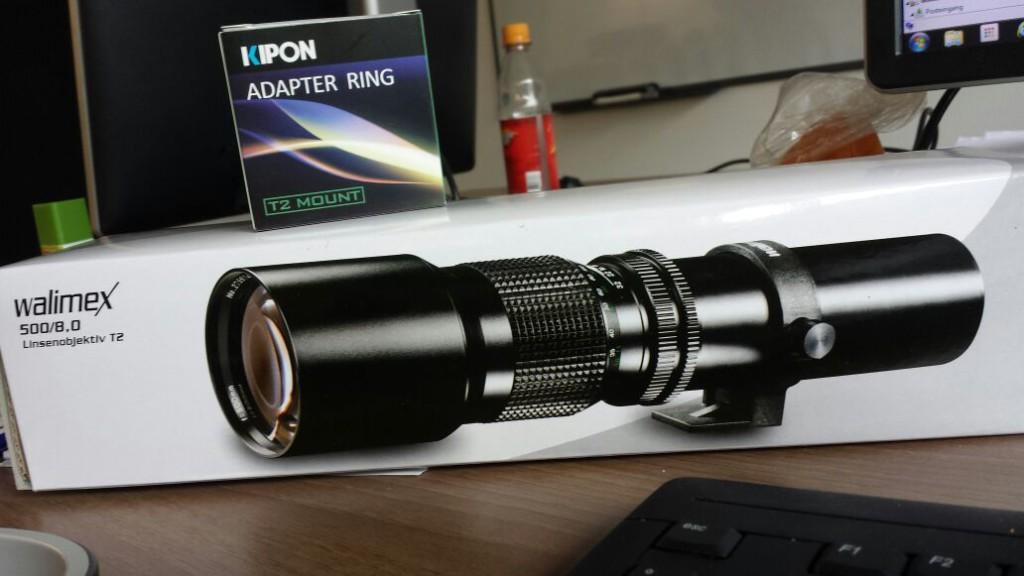 Die Wundertüte 500mm Teleobjektiv Linsenobjektiv